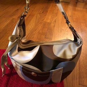 Coach Hampton Print Hobo Shoulder Bag - 10106